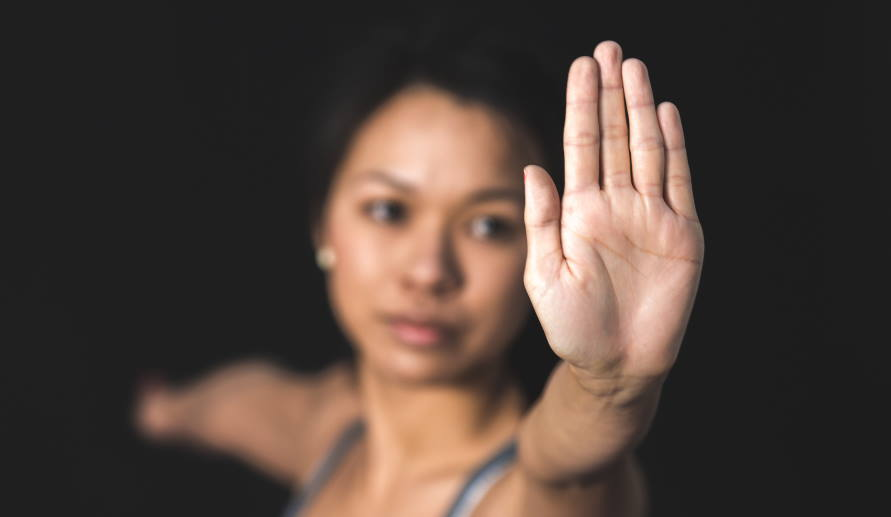 Knowing women's self-defense is important